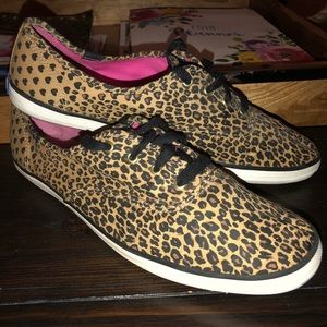 Keds Champion Cheeta Print Sz. 9.5